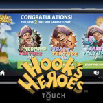 Hook's Heroes Touch® now available at the mobile casinos