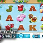 Flowers™ slot turned into a Christmas-themed slot