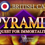 Free Spins Pyramid: Quest for Immortality™ slot at All British Casino