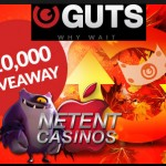 €10,000 giveaway at Guts Casino