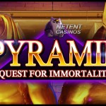 NetEnt Casinos launch Pyramid: Quest for Immortality™ slot