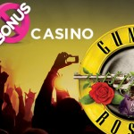 Win €1000 in cash by playing Guns N' Roses slot™ at No Bonus Casino