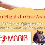 Maria Casino February Flights Giveaway for UK players