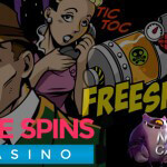 50 Free Spins for Hooks Heroes™ or Stickers™, what's it going to be?