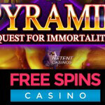 Get your 100 Free Spins on Pyramid™ slot at Free Spins Casino