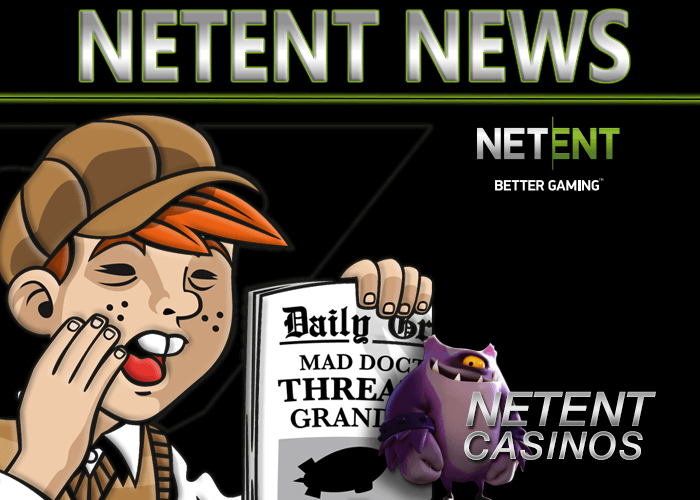 The Rank Group Plc launches NetEnt Games