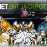 Pooled NetEnt Jackpots showing grand total of €10 million