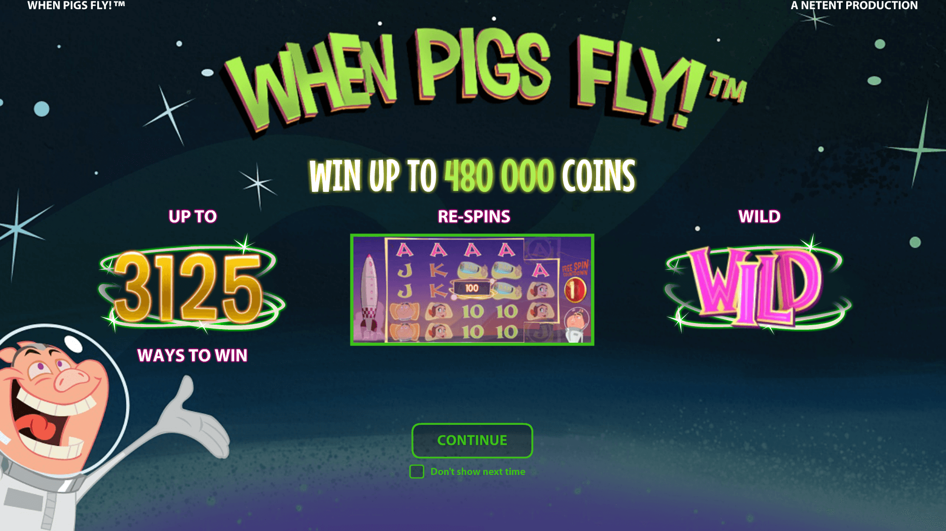 when pigs fly casino