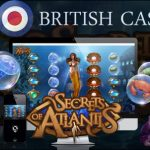 All British Casino awards 50 free spins for Secret of Atlantis™ slot