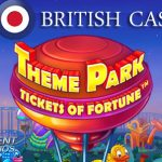 Get up to 60 Free Spins on the Theme Park™ slot at All British Casino