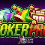 All British Casino doubles your Hot Spot Win in the Joker Pro™ videoslot this month