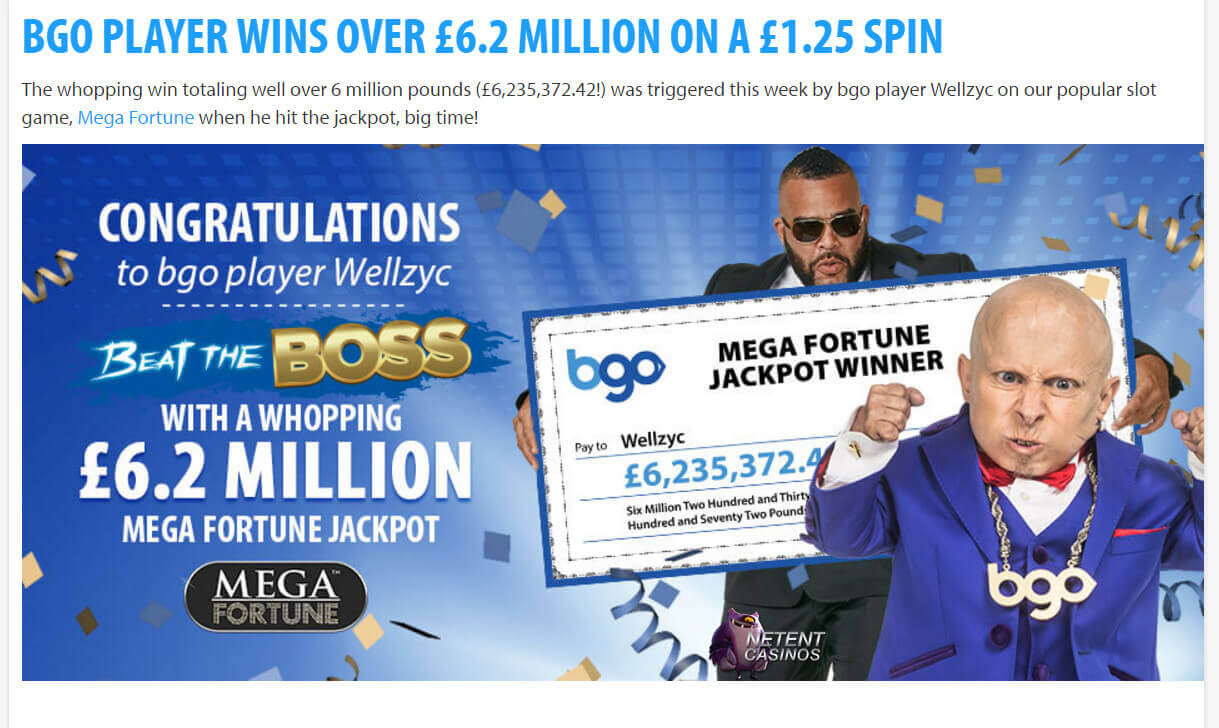 netent mega fortune winner