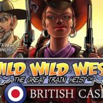 All British Casino offers 50 free wild rides on Wild Wild West™ slot