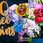 Flowers and Free Spins at All Irish Casino this Valentine's Day!