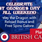 All British Casino celebrates St George's Day all weekend long
