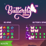 NetEnt promises fluttering butterflies in the Butterfly Staxx™ slot
