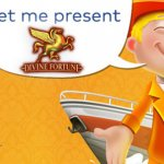 Guus presents Divine Fortune™ video slot to Fortuin Casino players