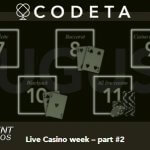 Codeta's Live Casino Week part #2