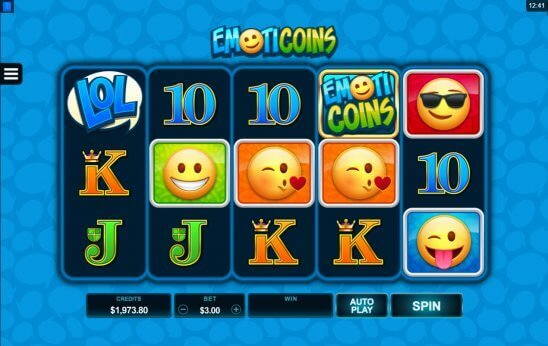 Emoticoins-slot-Microgaming