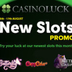 Enjoy the new (NetEnt) slots promo at Casinoluck