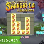 One week left for The Legend of Shangri-La: Cluster Pays™ video slot to be launched
