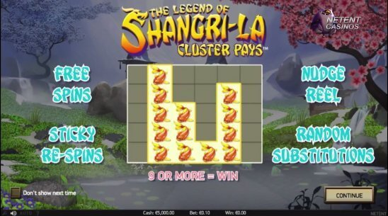 The-Legend-of-Shangri-La-Cluster-Pays™-slot-features