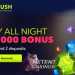 Weekend Reload Bonus at NightRush Casino