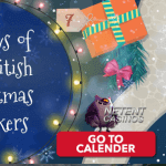 Free Spins for 3 Christmas video slots at All British Casino