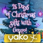 YakoCasino's 25-Day Christmas Party began