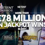 NetEnt Jackpots payout more than €78 million in 2017