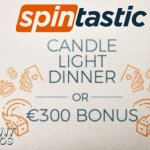 Spintastic goes romantic giving away Candlelight Dinners
