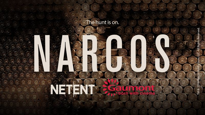 Narcos video slot announcement