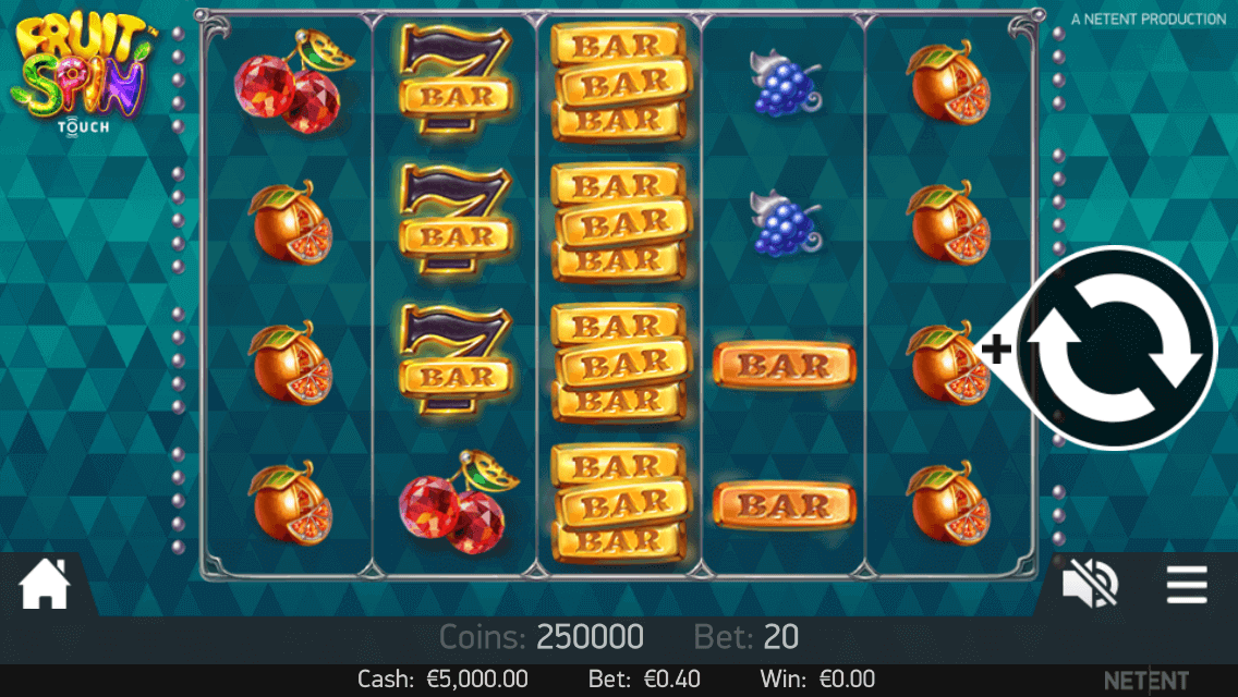 Fruit Spin Touch Netent Casinos