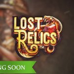 Lost Relics™ video slot adventure soon available at the NetEnt Casinos