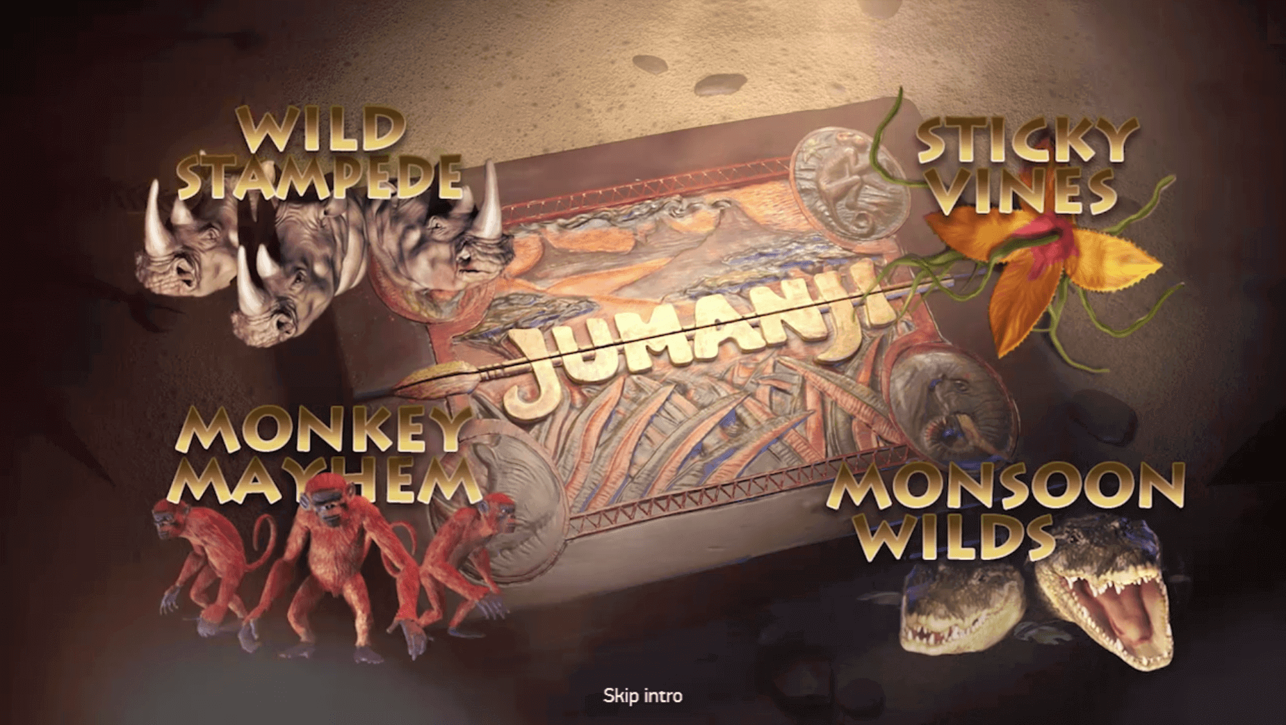 Jumanji™ - Netent Casinos