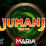 Earn free spins for the Jumanji™ video slot at Maria Casino's Live Casino