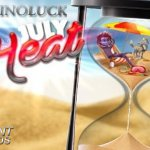 Win up to €15,000 during the July Heat Promotion at CasinoLuck