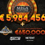 NetEnt pays out €6.6 million Mega Fortune™ Jackpot to Swedish player