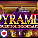 Win an additional £500 playing the Pyramid™ slot at All British Casino
