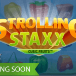 Strolling Staxx: Cubic Fruits™ video slot about to bring another fruity slot experience