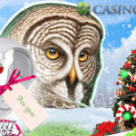 Get into the Wintery Spirit with lots of bonus spins at CasinoLuck