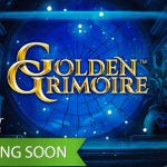 The upcoming Golden Grimoire™ slot will offer magic and mystery