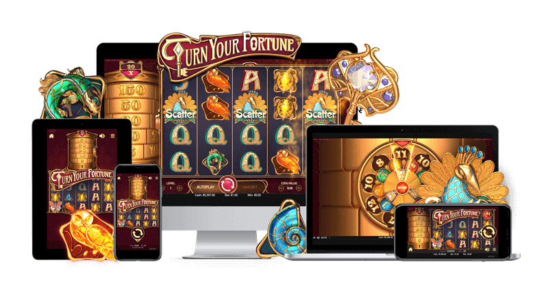 Turn Your Fortune slot NetEnt