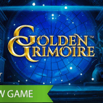 Enjoy a world of mysterious spins in the new Golden Grimoire™ video slot