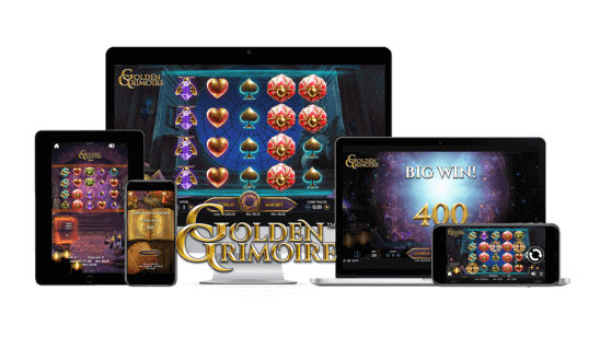 Golden Grimoire™ video slot