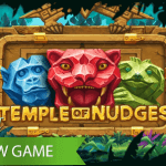 Nudges are king in NetEnt's Temple of Nudges™ video slot