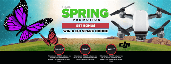 Spring promotion Next Casino