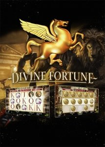 This image has an empty alt attribute; its file name is divine-fortune-video-slot-215x300.jpg