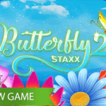 Enhanced Butterfly Staxx 2™ video slot brings even more magic with multiple play areas