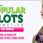Three NetEnt slots featured during the Popular Slots Promotion at CasinoLuck